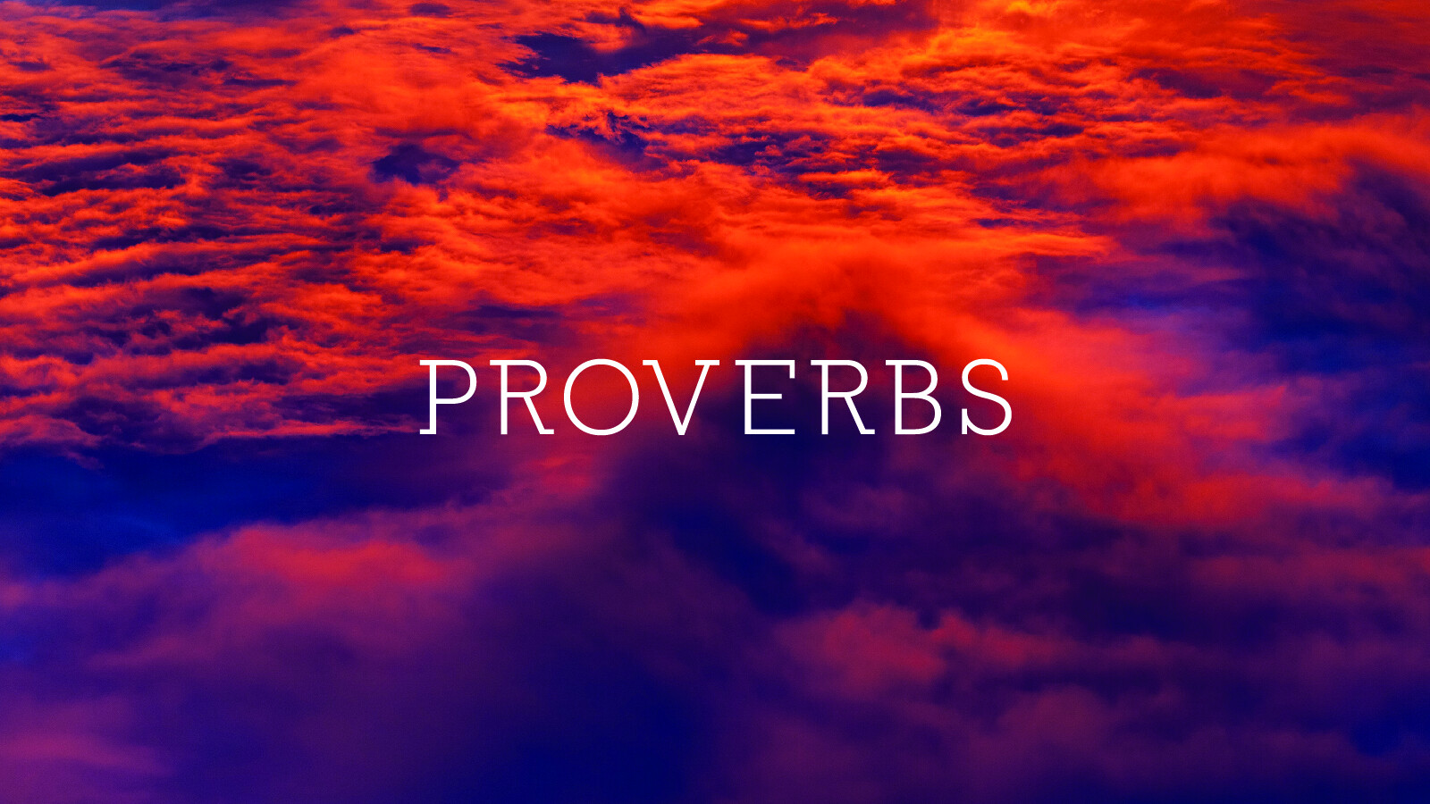 Proverbs for the 2017
